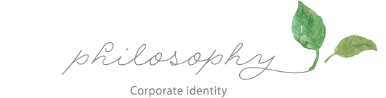 Corporate identity:philosophy